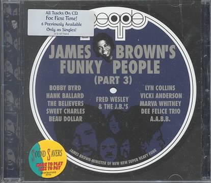 JAMES BROWN'S FUNKY PEOPLE PART 3 BY BROWN,JAMES (CD)